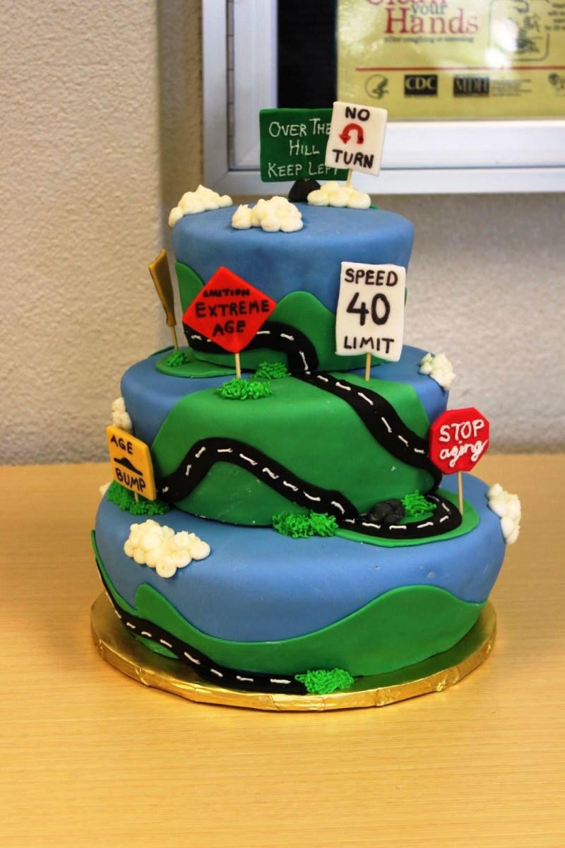 40Th Birthday Cake Ideas For Her 40th Man Protoblogr Design