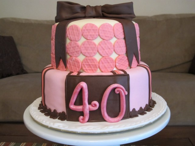 40Th Birthday Cake Ideas For Her 9 40th Birthday Cakes For Her Photo Women 40th Birthday Cake