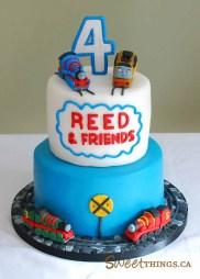 4Th Birthday Cake Sweetthings 4th Birthday Cake Thomas Friends Cake