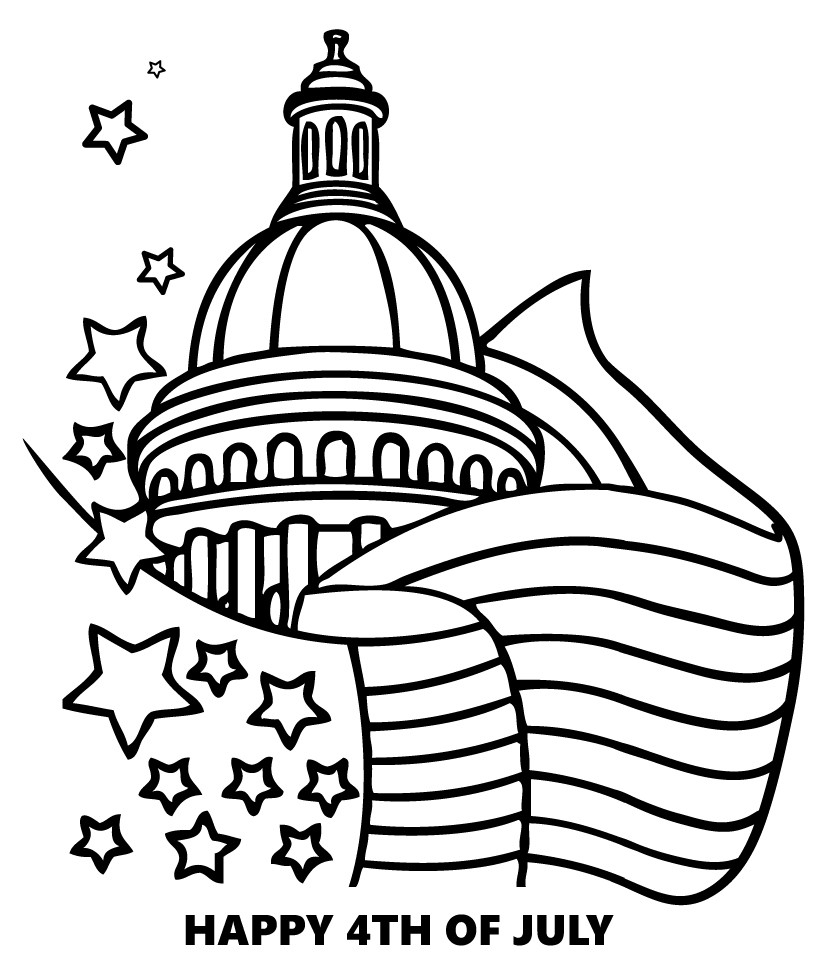 4th Of July Coloring Pages 4th Of July Coloring Pages Coloring Pages Printable Coloring