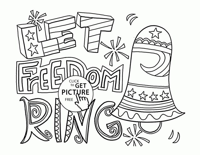 4th Of July Coloring Pages American Statue Of Liberty Fourth July Coloring Page For Kids At