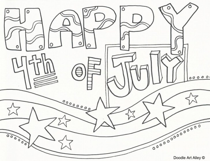 30+ Creative Image of 4th Of July Coloring Pages