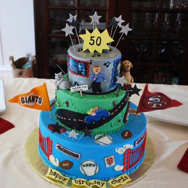 50Th Birthday Cakes For Men 50th Cake Pinterest