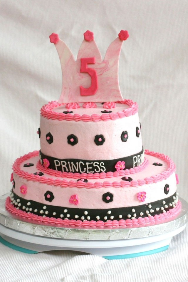 5Th Birthday Cake 5th Birthday Princess Cake Cakecentral