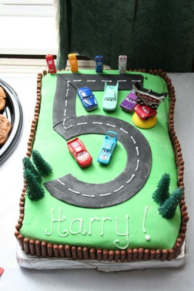 5Th Birthday Cake Disney Cars 5th Birthday Cakecentral