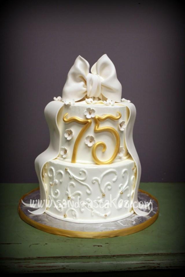 75Th Birthday Cake 11 Womans Birthday Fancy Cakes Photo Female Birthday Cakes