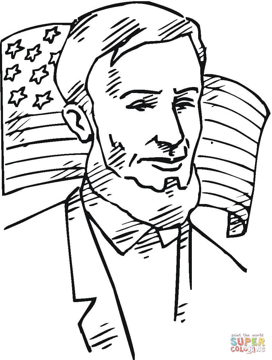 Wonderful Image of Abraham Lincoln Coloring Page ...