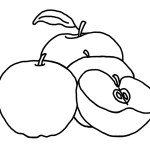 Apple Coloring Pages Free Printable Apple Coloring Pages For Kids