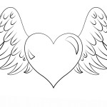 Arrow Coloring Pages Heart With Arrow Coloring Pages At Getdrawings Free For