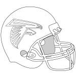 Atlanta Falcons Coloring Pages Atlanta Falcons Helmet Coloring Page Free Printable Coloring Pages