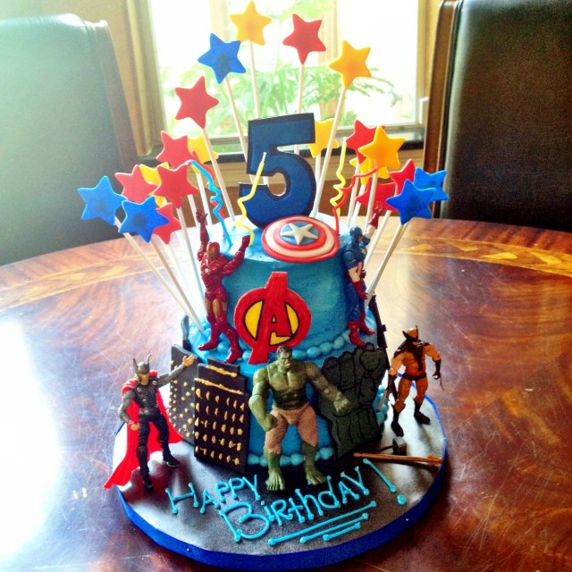Avengers Birthday Cakes Avengers Birthday Cake Sweet For Sirten All Edible Except Action