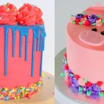 Awesome Birthday Cakes 10 Best Awesome Birthday Cake With Colorful Diy Cake Decorating