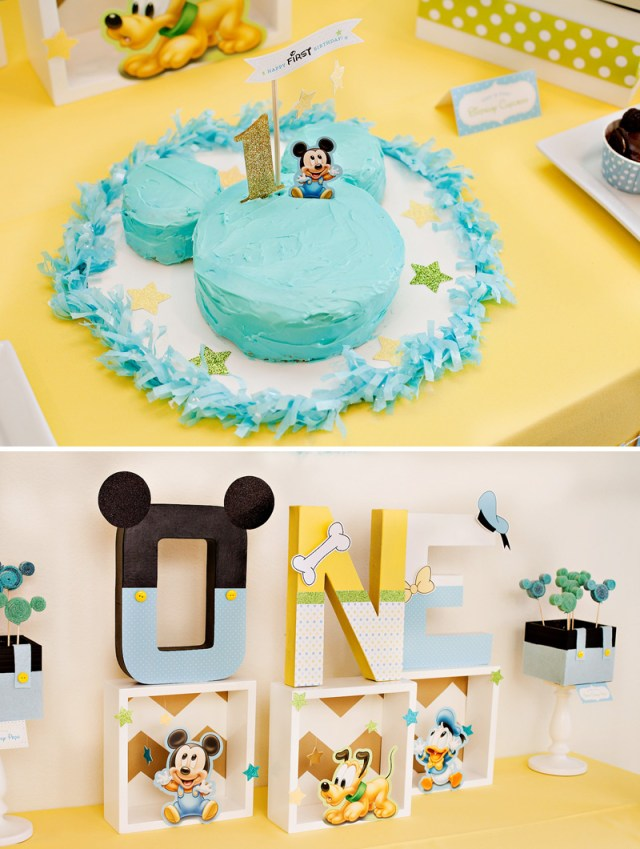 Baby 1St Birthday Cake Creative Mickey Mouse 1st Birthday Party Ideas Free Printables