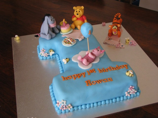 Baby 1St Birthday Cake Cute Ba Birthday Cakes Ideas Protoblogr Design
