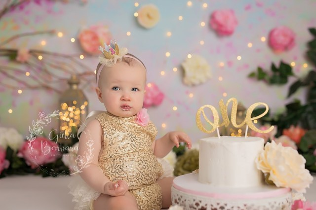 Baby Girl Birthday Cake Ba Girl Birthday Cake Giella Barbara Photography Bergen County
