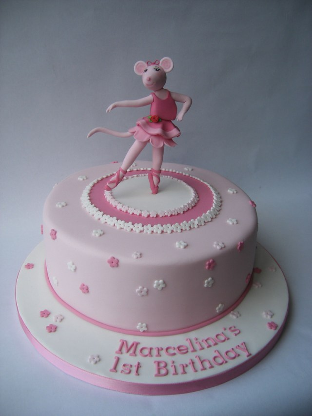 Ballerina Birthday Cake Angelina Ballerina Birthday Cake Karen Geraghty Flickr