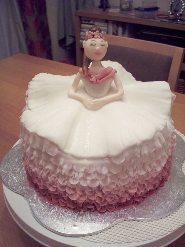 Ballerina Birthday Cake Ballerina Birthday Cake Cakecentral