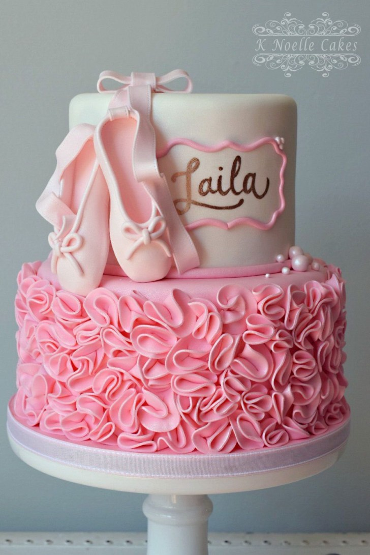 35+ Exclusive Photo of Ballerina Birthday Cake