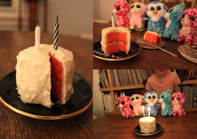 Beanie Boo Birthday Cake The Tiniest Birthday Cake The Steady Table