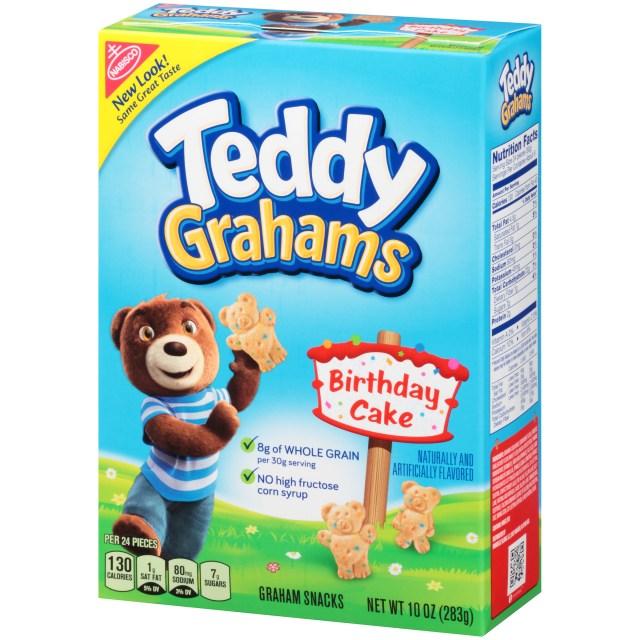 Best Birthday Cake Flavors Nabisco Honey Maid Birthday Cake Teddy Grahams 10 Oz Walmart