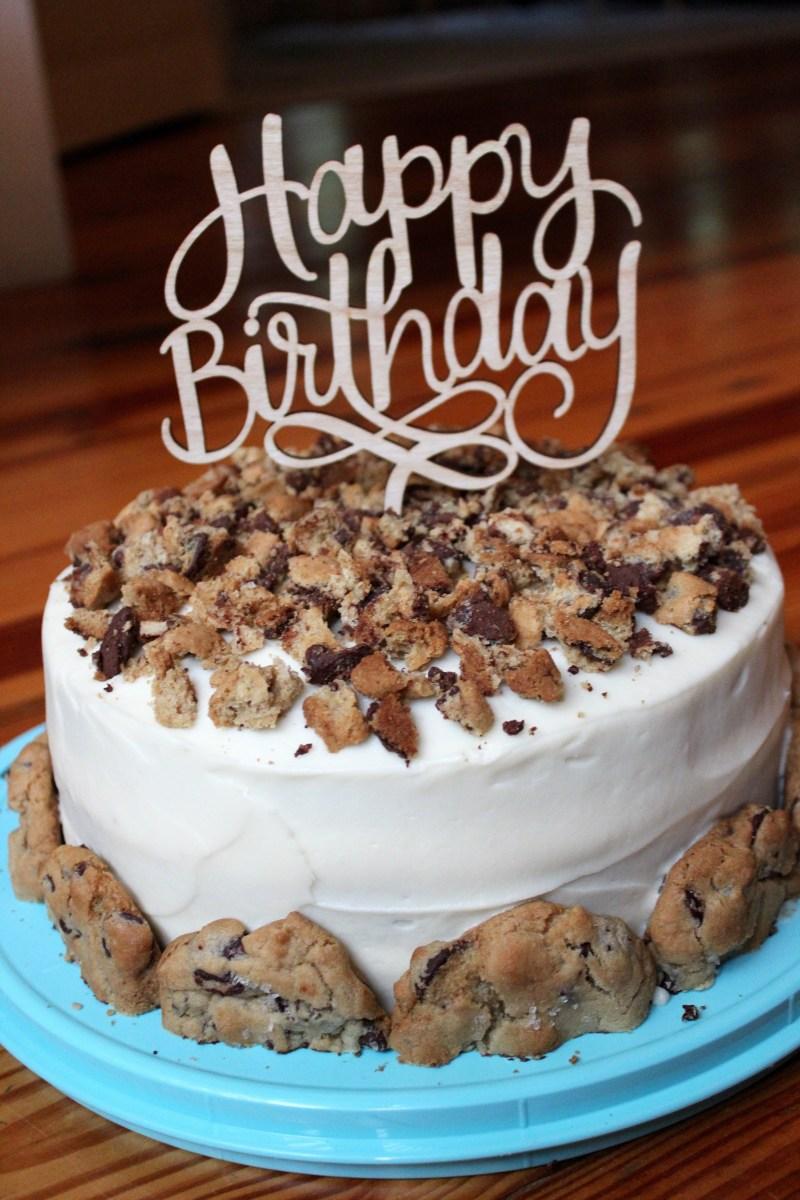Best Birthday Cake Recipe Chocolate Chip Cookie Chocolate Birthday Cake Sevenlayercharlotte