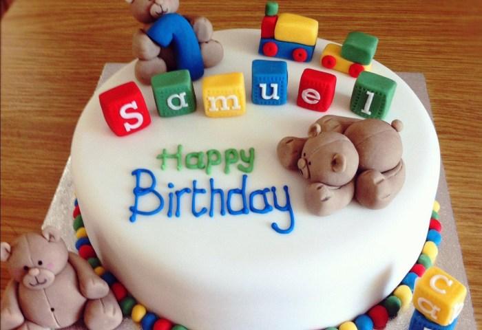 Birthday Cake Boy First Birthday Cake For A Ba Boy Protoblogr Design