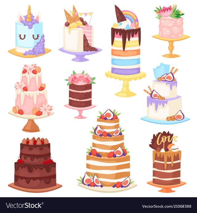 Birthday Cake Cheesecake Birthday Cake Cheesecake Cupcake For Happy Vector Image