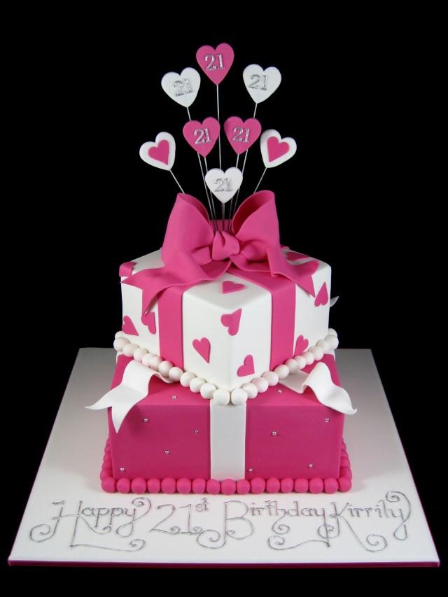 Birthday Cake Designs Pin Mayra Klinger On Cakes Pinterest 21st Birthday Cakes