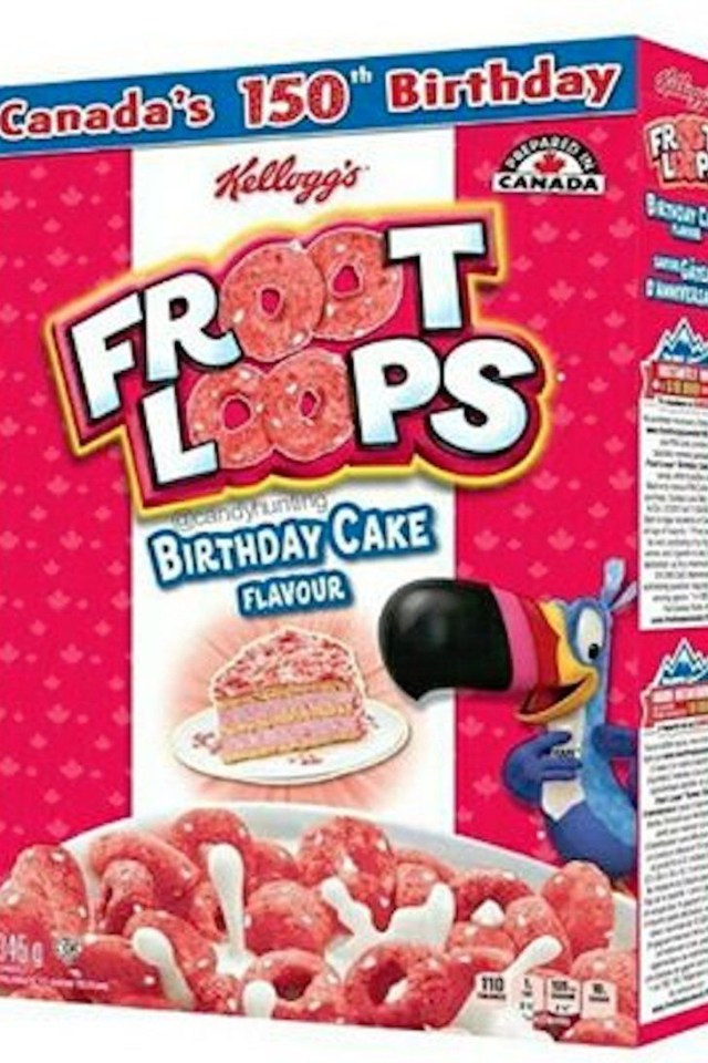 Birthday Cake Flavors Try Not To Hyperventilate But Birthday Cake Flavored Froot Loops