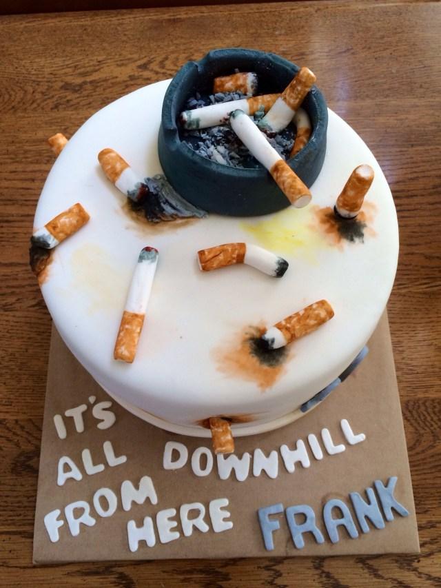 Birthday Cake For Boyfriend Cigarette Cake Instagramtheyellowbirdbakery Yummmy Cakessssss