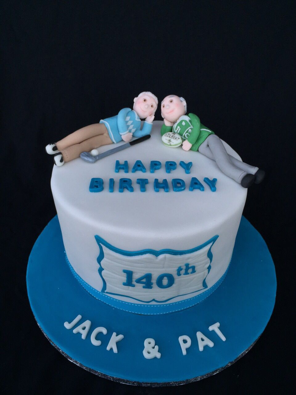 Birthday Cake For Brother Twin 70th Cakes