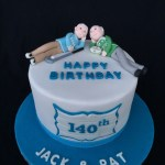 Birthday Cake For Brother Twin Brother Birthday Cake 70th Birthday Cake 70th Cakes
