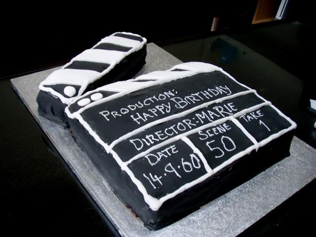Birthday Cake Movie Movie Theme Cake