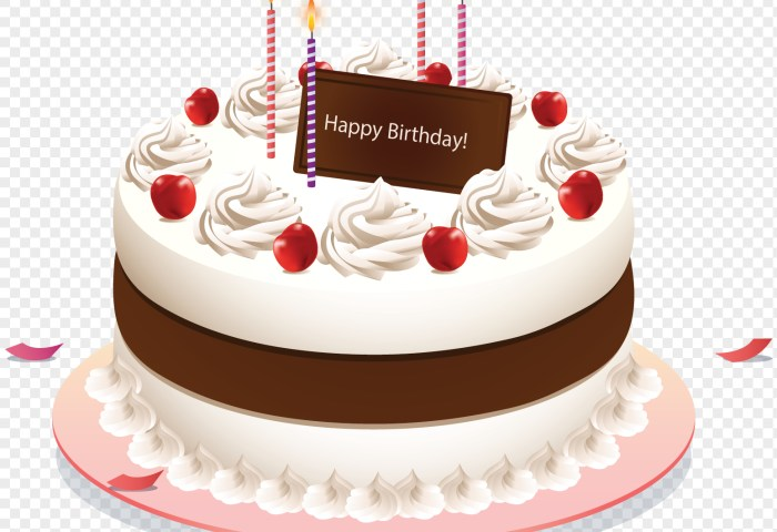 Birthday Cake Picture Free Download White Cream Birthday Cake Png