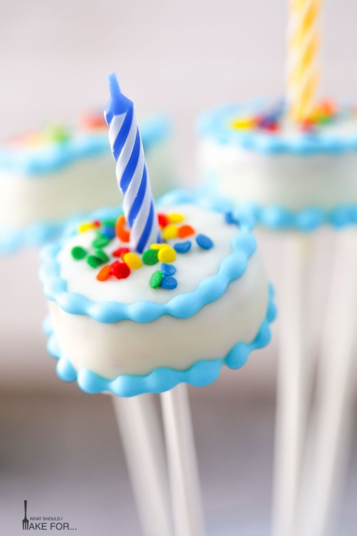 25+ Wonderful Image of Birthday Cake Pop