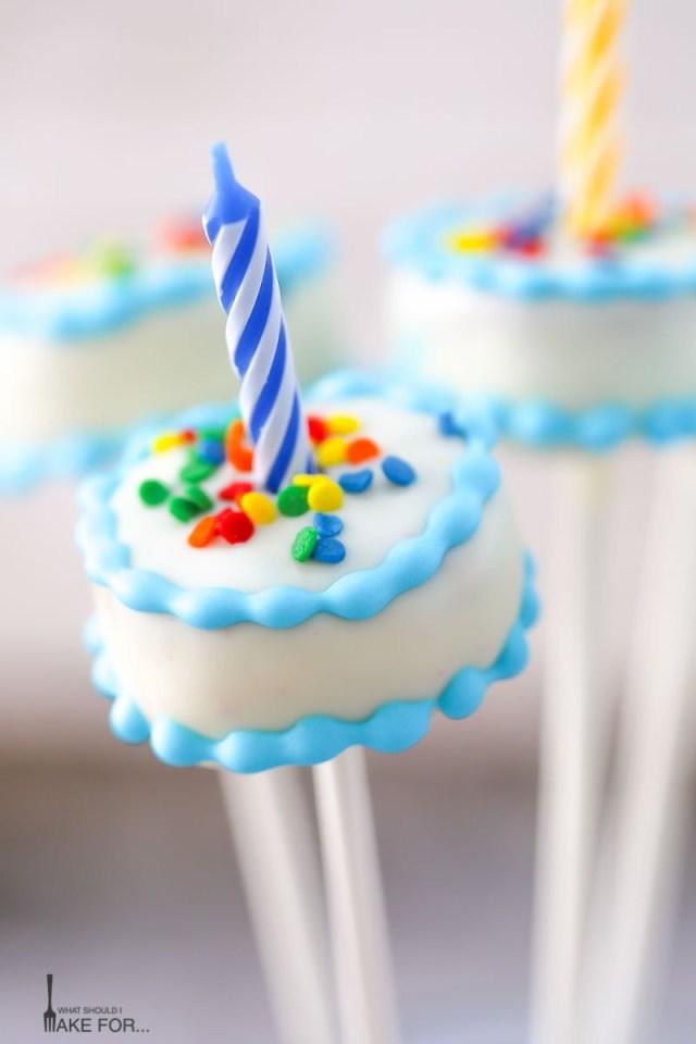 Birthday Cake Pop Birthday Cake Cake Pops What Should I Make For