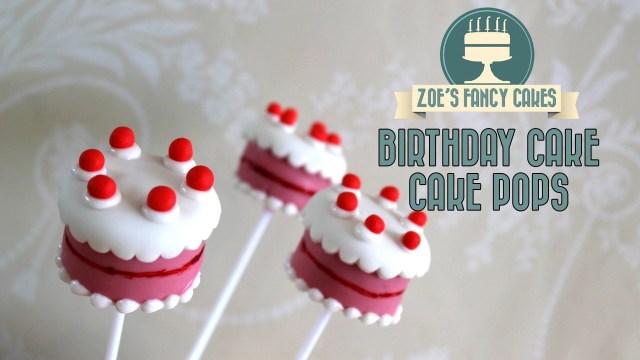 Birthday Cake Pop Birthday Cake Pops How To Make Birthday Cake Cake Pops Cakepop