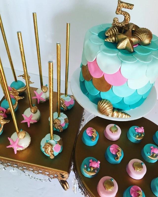 Birthday Cake Pops Mermaid Cake Birthday Party And Cake Pop Awesome Cake Pops Cake