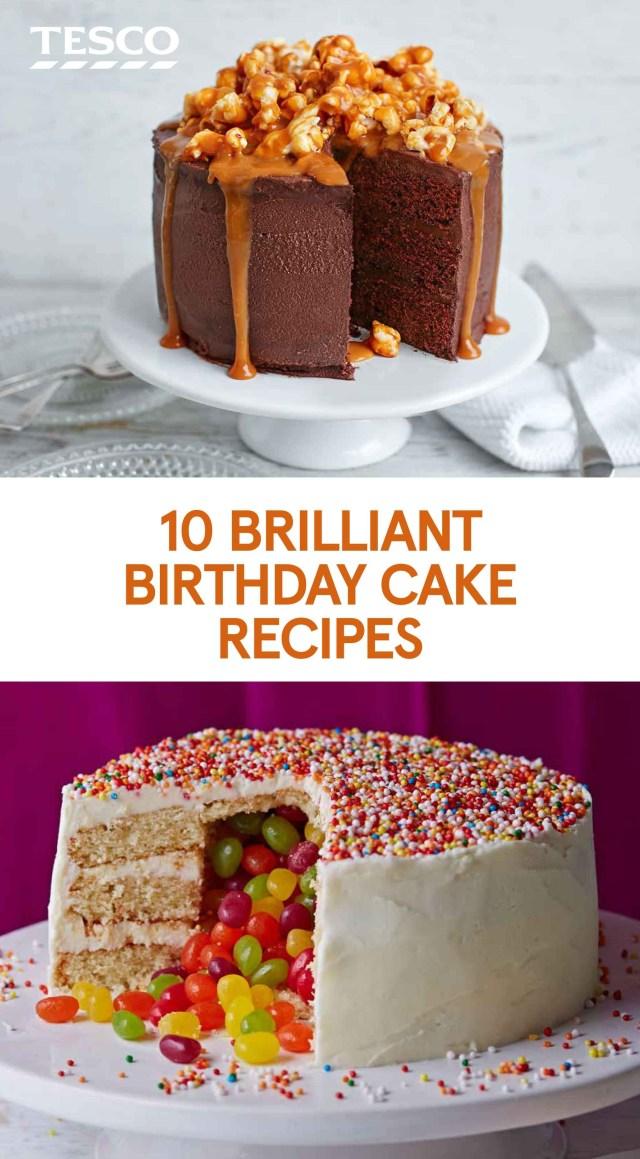 Birthday Cake Recipes 10 Brilliant Birthday Cake Recipes In 2018 Cake Cake Recipes