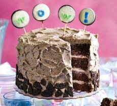 Birthday Cake Recipes Cookies Cream Party Cake Recipe Bbc Good Food