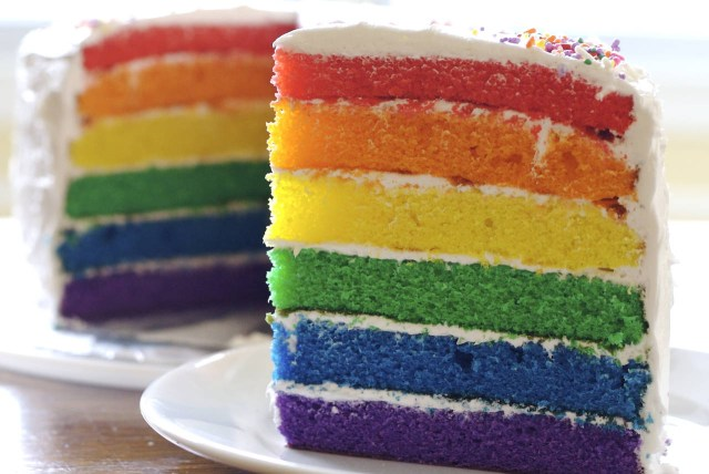 Birthday Cake Recipes Rainbow Birthday Cake Recipe From Scratch Makebetterfood