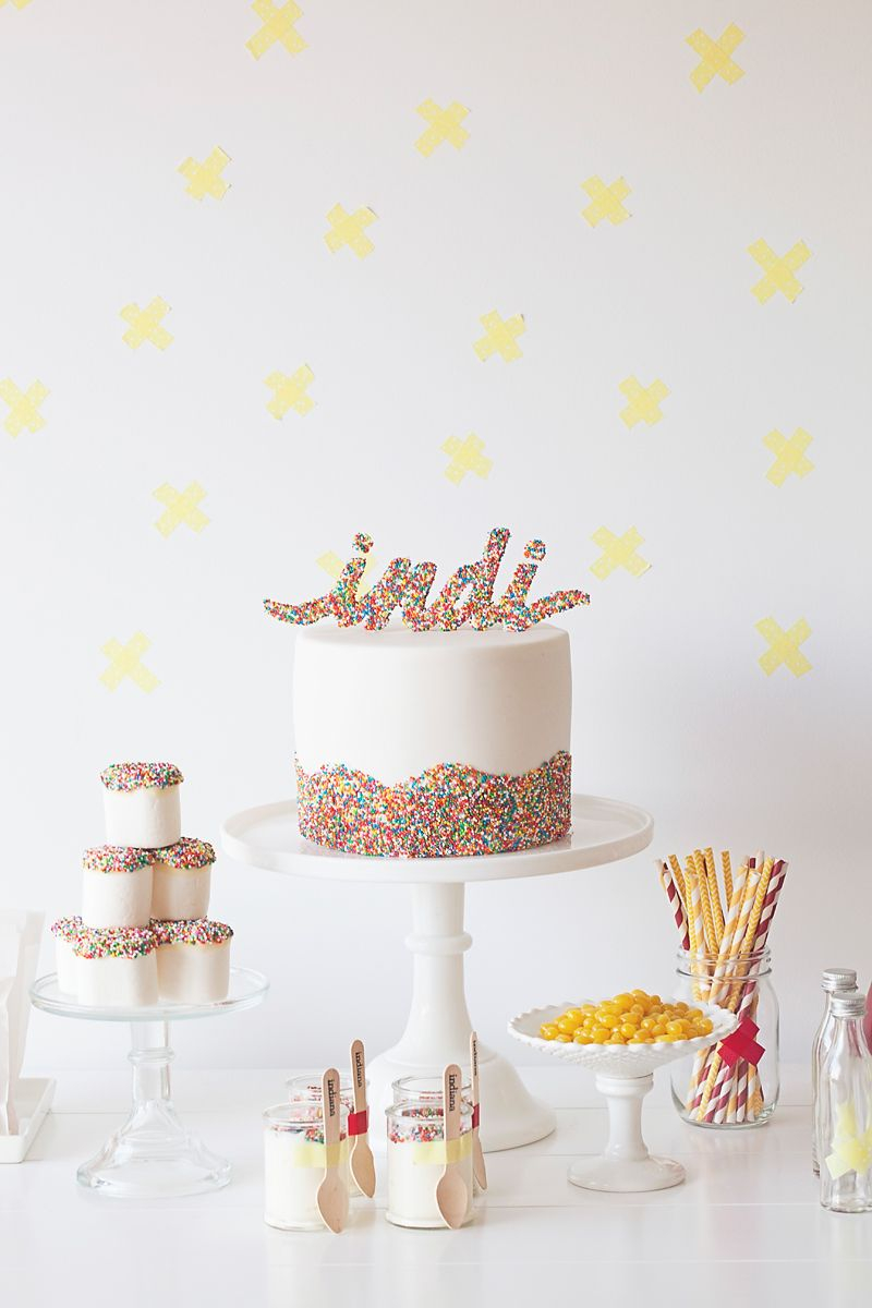 Birthday Cake Toppers For Adults Sprinkle Topper Just Had A Brain Explosion Of Possibilities