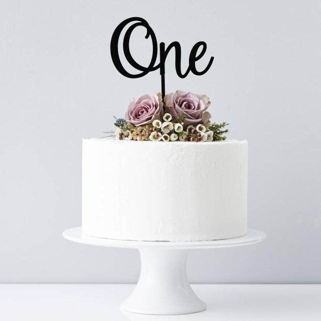 Birthday Cake Toppers Personalised Number Birthday Cake Topper Sophia Victoria Joy