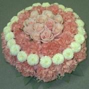 Birthday Cake With Flowers Birthday Cake Floral Arrangements Wwwbilderbeste