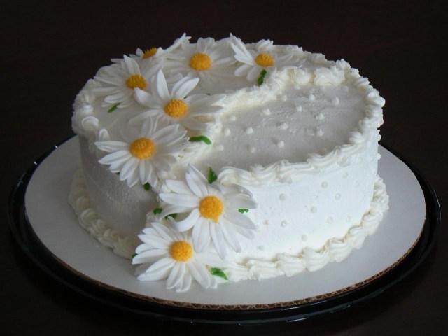Birthday Cake With Flowers Flowers Birthday Cakes