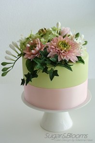 Birthday Cake With Flowers Memorable Birthday Cake Flower Arrangement Flower
