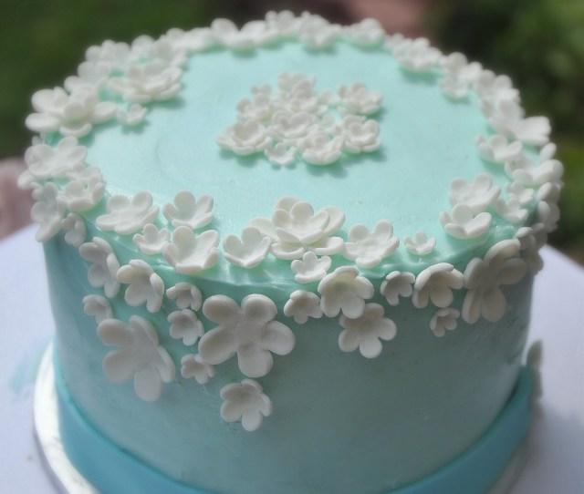 Birthday Cake With Flowers Turtlecraftygirl Flower Birthday Cake