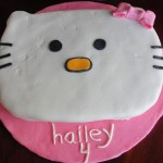 Birthday Cakes For 8 Years Old Girl Kt Kakes Hello Kitty Birthday Cake And Cupcakes