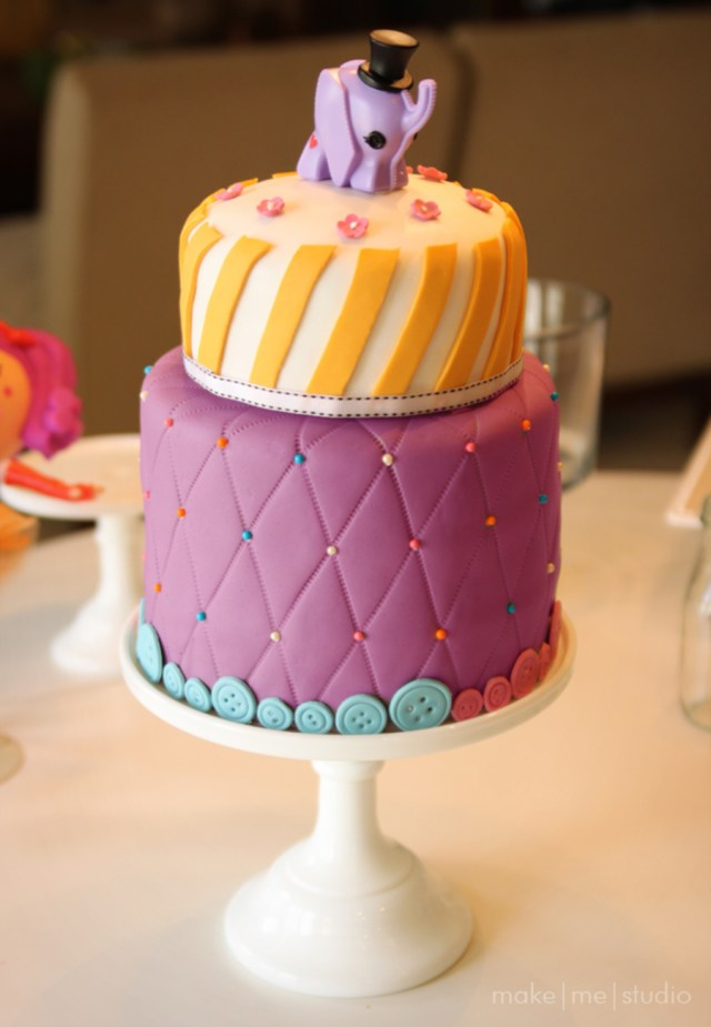 Birthday Cakes For 8 Years Old Girl Lalaoopsy Themed Cake For Eight Year Old Girls Birthday 6 And 8