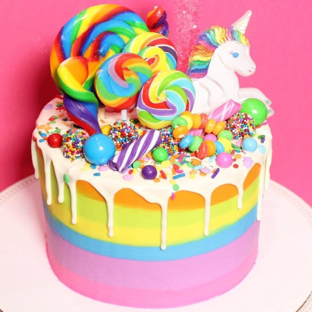Birthday Cakes For Kids Rainbow Birthday Cakes For Kids Popsugar Family